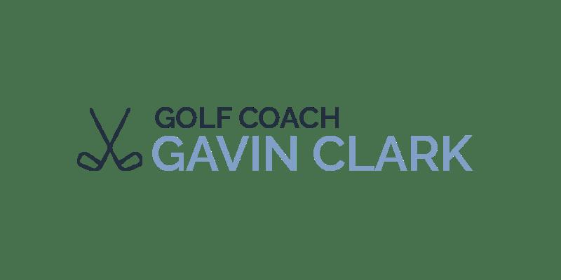 Golf Coach Gavin Clark Logo